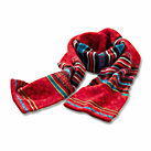Eribé fair isle ladies' lambswool scarf
