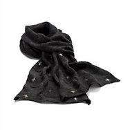 Embroidered Alpaca Scarf  | Accessories