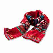 Eribé fair isle ladies' lambswool scarf  | Accessories