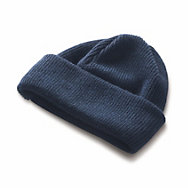 Merino Wool Hat with Double Turn-up  | Accessories
