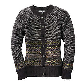 Eribé Fair Isle Damen-Cardigan | Strickwaren