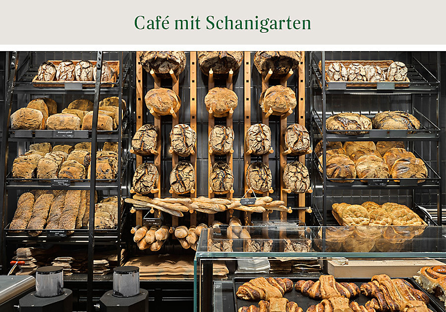 Das Brotsortiment in Wien