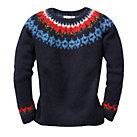 Eribé Fair Isle Hand Knitted Sweater