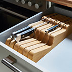 Drawer Sized Block for Kitchen Knives_40