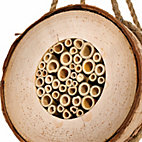 Bees' nest aid made of birch_20