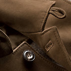 Men's Chamois Tanned Deer Leather and Boiled Wool Jacket_06