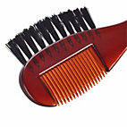 Beard comb with an integrated brush_20
