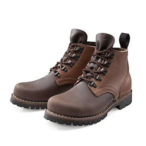 Bertl Russia Leather Work Boots