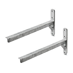Bracket, steel <br />(2 brackets)