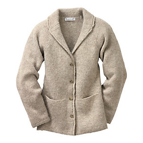 Eribé Peerie Wool Ladies' Knitted Blazer