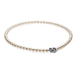 Freshwater Pearls Necklace and Bracelet