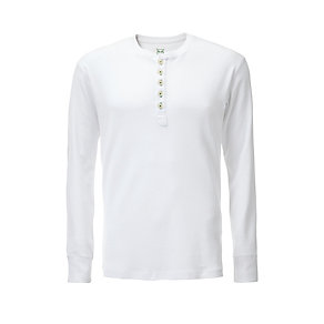 Knowledge Cotton Apparel Henley-Shirt