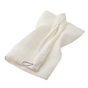 Linen Laundry Bag, Small