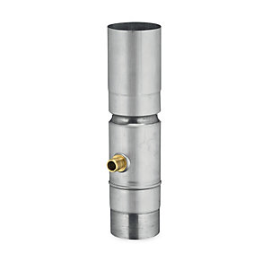 Rainwater Collector With Brass Connector
