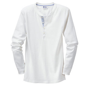 Schiesser Long Sleeve Fine-rib Men's Undershirt
