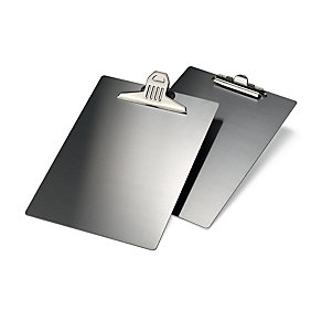Stainless Steel A4 Clipboard with Small Clip