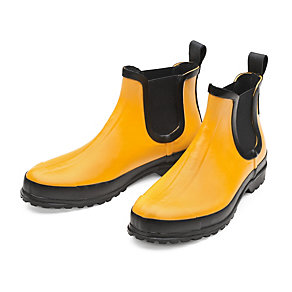 Women's Mixed Natural Rubber Ankle Boots