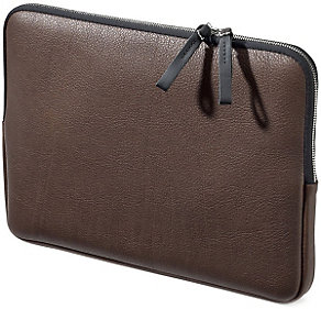 Notebooktasche Leder für MacBook 13""