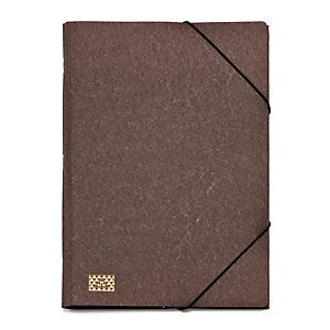 20 Compartment Cardboard File Holder Brown