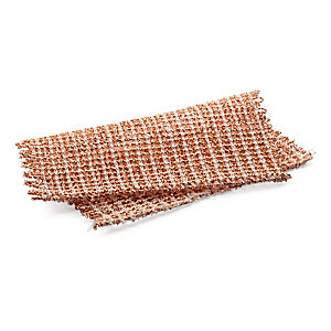 3 Copper Scrub Cloths