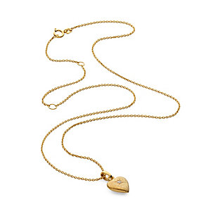 Anniversary Chain with Pendant Heart