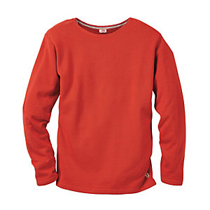 Armor lux Frottee-Shirt, Rot