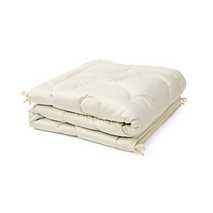 Bed Cover Combining Wild Silk and Camel Hair