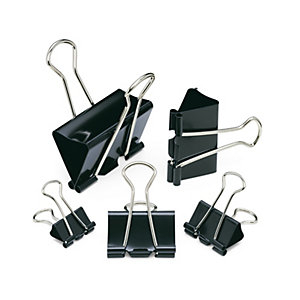 Binder Clips 19 mm, 12 Pieces