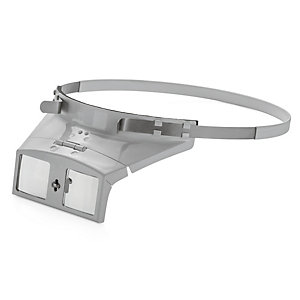 Binocular Headband Magnifier With Glass Lens