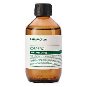 Body Oil with Macadamia Nut Oil by Manufactum