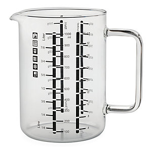 Borosilicate Glass Measuring Jug
