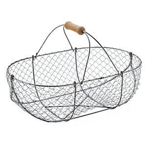 Braided Wire Basket Large