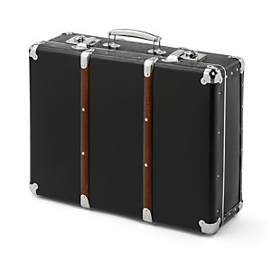 Cardboard attaché case, Black