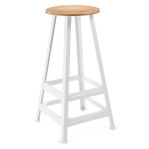 Chemnitz Bar Stool, Bright White