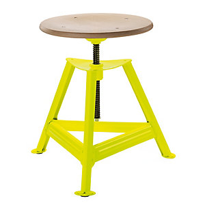 Chemnitz Stool Height-Adjustable, Luminous Yellow