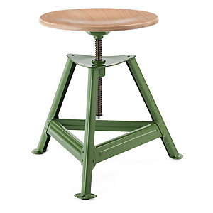 Chemnitz Stool Height-Adjustable, Reseda Green