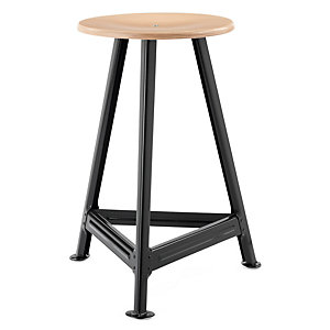 Chemnitz Stool Large, Nightblack