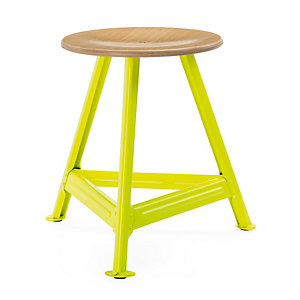 Chemnitz Stool Small, Bright Yellow RAL 1026