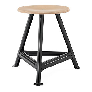 Chemnitz Stool Small, Nightblack