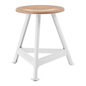 Chemnitz Stool Small, Bright White