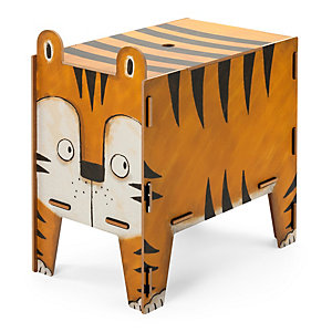 Chest and Stool, Tiger