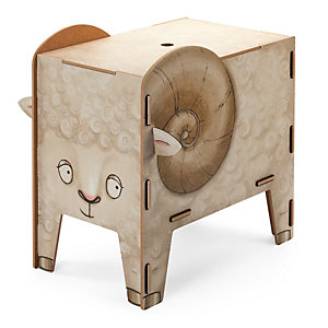 Chest and Stool, Ram