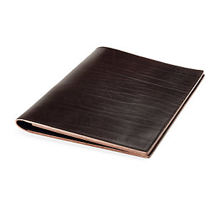 Conference and Project Folder Ox-Neck Leather Format A4 Brown