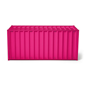 Container DS, Telemagenta RAL 4010