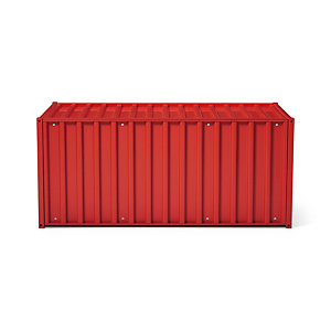 Container DS, Tomatenrot RAL 3013