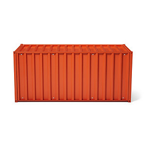 Container DS, Rotorange RAL 2001