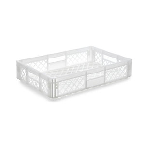 Container STOWAGE CRATE Small Traffic White RAL 9016