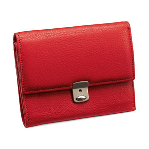 Cowhide purse, Red