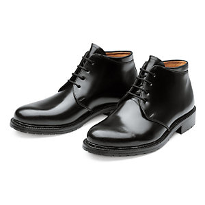 Dinkelacker Horse Leather Ankle Boots, Black