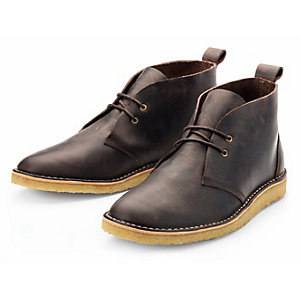 Ekn Men's Crêpe-Soled Boot, Brown